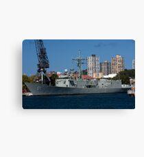 Naval Canvas Print