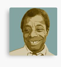 James Baldwin Canvas Print