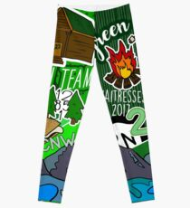 Che-na-wah Waitress Leggings Leggings