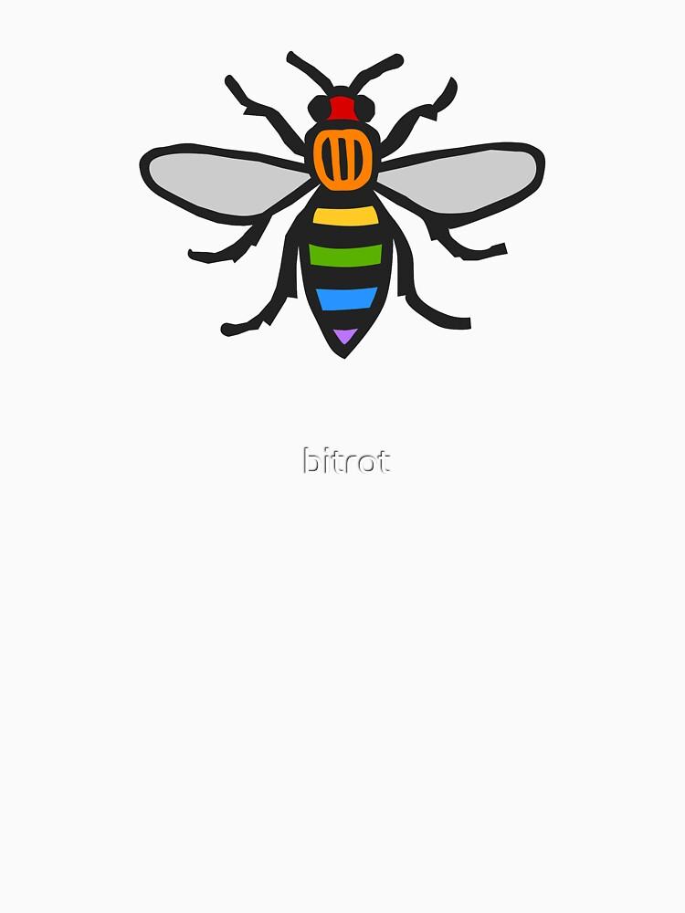 Manchester Bee, Regenbogenausgabe von bitrot