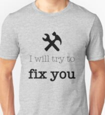 Fix You - Coldplay T-Shirt