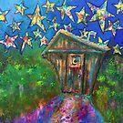 Kaleidoscope Skies Original Painting  by Claire Bull