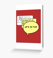LET'S DO THIS! - Deadpool Greeting Card