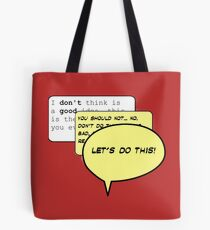 LET'S DO THIS! - Deadpool Tote Bag