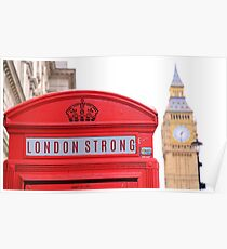 T- shirt  London Strong Poster
