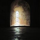 Small window into an Abbey by Roberta Angiolani