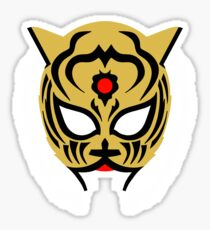 Tiger Mask Design Sticker