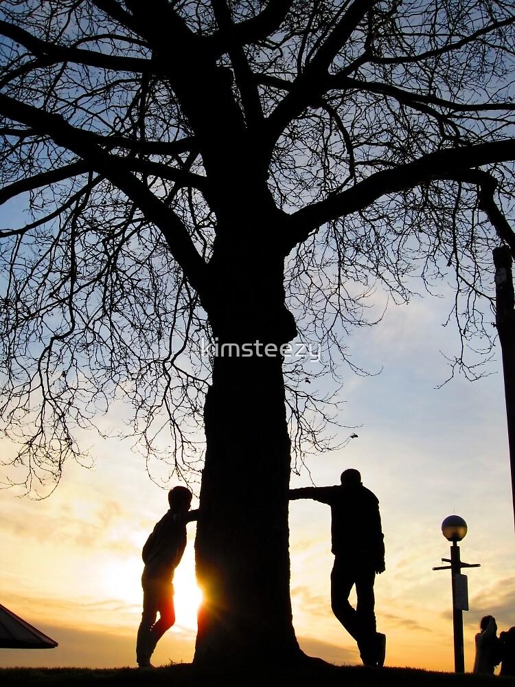 Tree Light People by kimsteezy