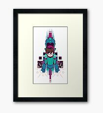 The Mega Man Framed Print