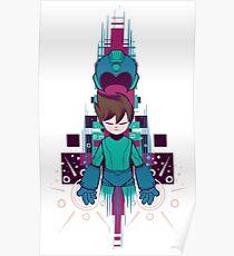 The Mega Man Poster