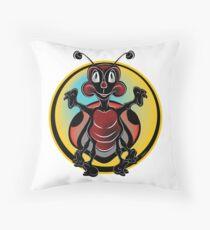 Lady Bug  #1 Throw Pillow
