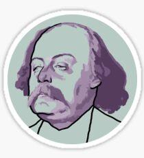 Gustave Flaubert Sticker