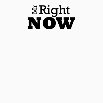 Mr Right ......... Now Tshirt by troyw