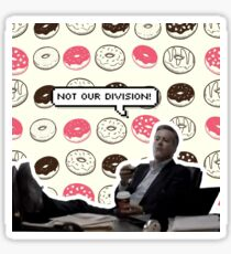 Sherlock- NOT OUR DIVISION Sticker