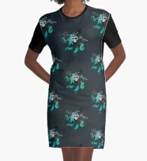 Uma Skull Graphic T-Shirt Dress