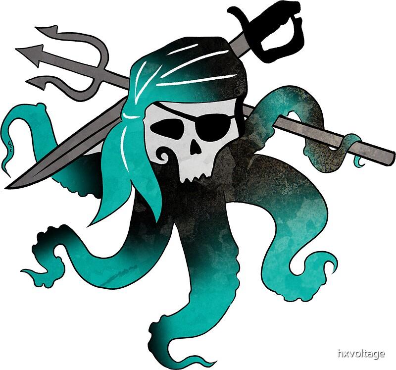 26687918 Uma Skull on Spiral Border Clip Art