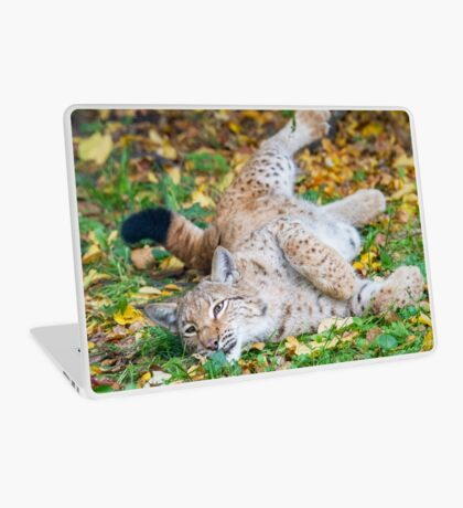 Playful Lynx Laptop Skin