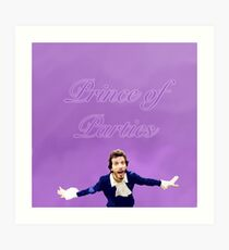 Pretty Prince of Parties (FOTC) Art Print