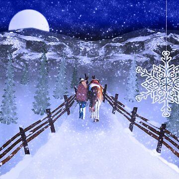 A Walk in the Snow by mechalamatthews