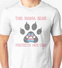 0d5a296d Transgender Pride For Moms Unisex T-Shirt