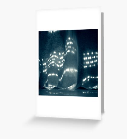 Soft-Nights and City-Lights Greeting Card