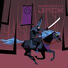 Last Ride of Samurai Jack by artkarthik