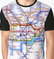 London Underground Tube Graphic T-Shirt
