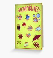 Candy Variety Greeting Card