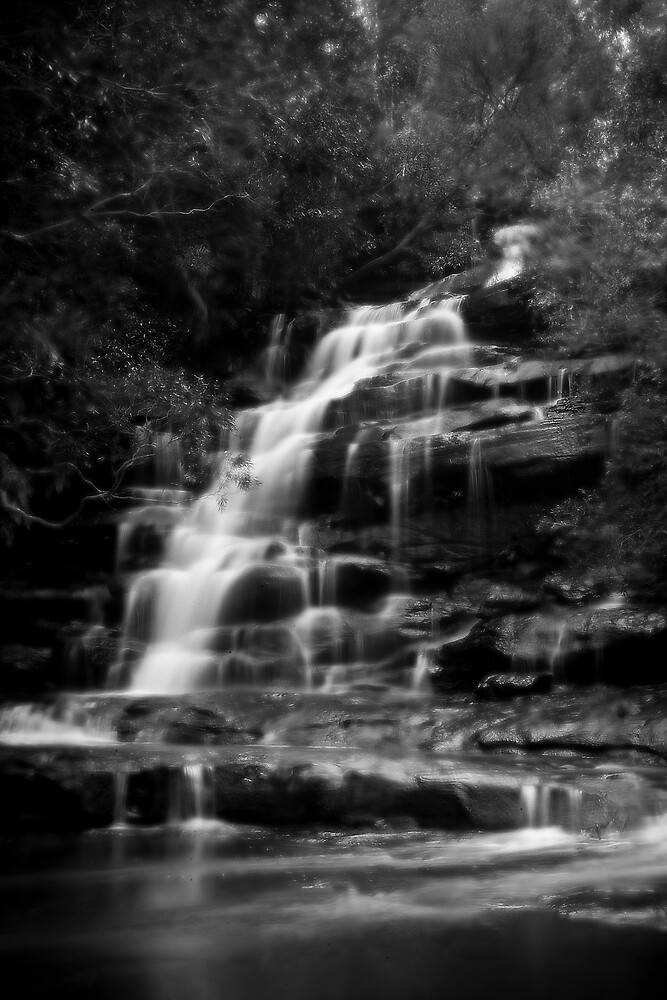 Waterfall Soft Focus by rosswoodphoto