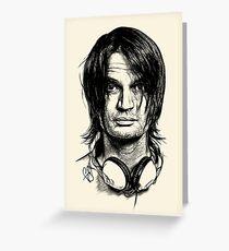 Radiohead - Jonny Greenwood Greeting Card