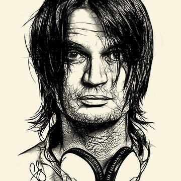 Radiohead - Jonny Greenwood by elstudio