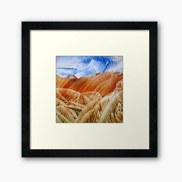 Quiet Hills Framed Art Print