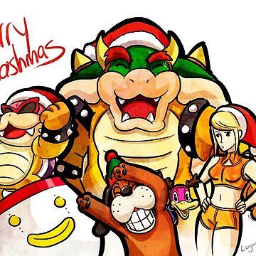 Merry Smashmas by logan-niblock