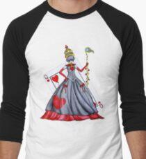 Queen of Heart Men's Baseball ¾ T-Shirt