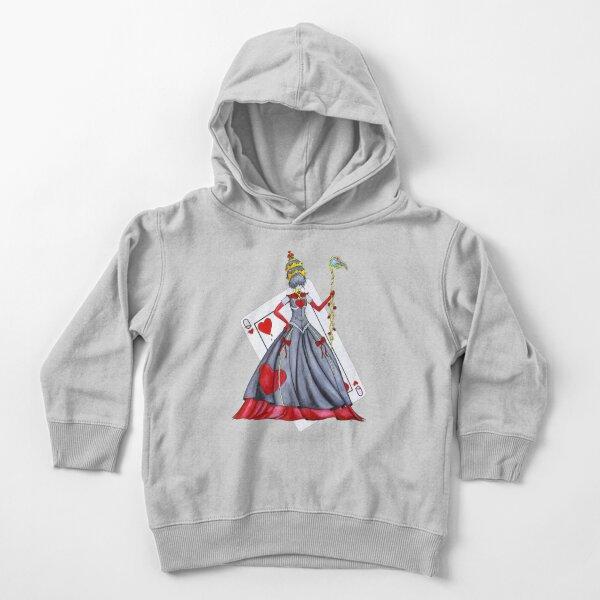 Queen of Heart Toddler Pullover Hoodie