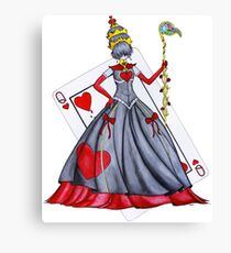 Queen of Heart Canvas Print
