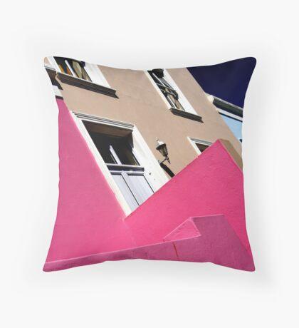 Bo-Kaap, Cape Town Throw Pillow