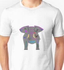 Tattoo Elephants Unisex T-Shirt
