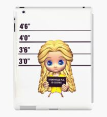 Goldilocks Mugshot iPad Case/Skin