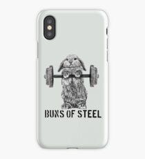 Buns of Steel (Light) iPhone Case