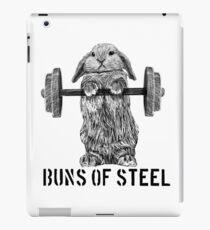 Buns of Steel (Light) iPad Case/Skin