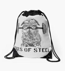 Brötchen aus Stahl (Licht) Turnbeutel