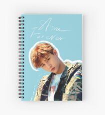 I.M / Changkyun (Monsta X) - Shine forever. Spiral Notebook