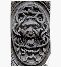 Medusa bas relief Poster