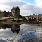 Eilean Donan Castle, film star of Scotland by jacqi