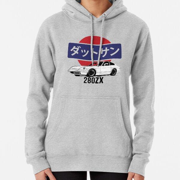 Datsun 280ZX Logo Print Pullover Hoodie