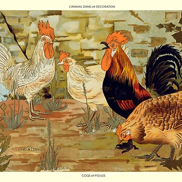 Roosters and hens by BillyBernie