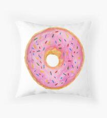 Doughnut Throw Pillow