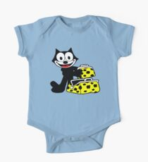 My Magical Black Cat One Piece - Short Sleeve