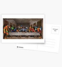 He-Man Villains Epic Last Supper Postkarten